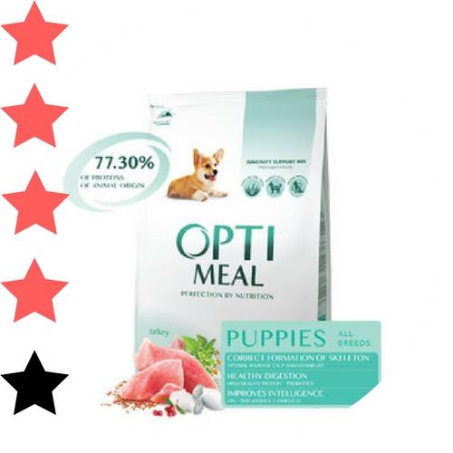 Optimeal корм для собак